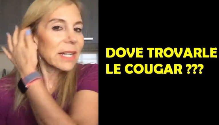 Dove Trovarle le Cougar? Ecco i 4 luoghi Facili